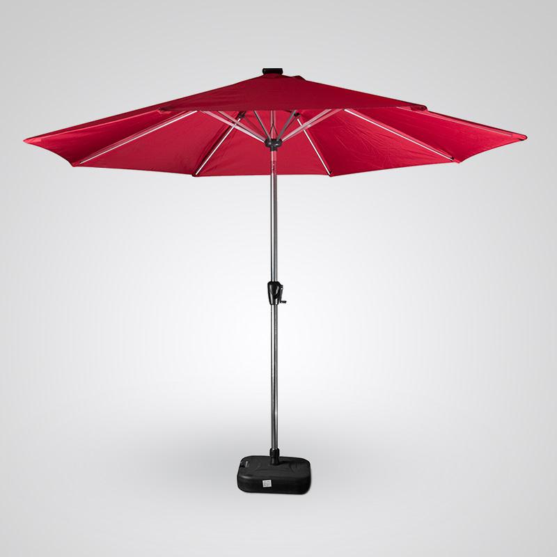 Paraguas LED de luz solar